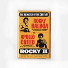 ROCKY - MOVIE POSTER MAGNETS (2 3 4 5 stallone clubber lang drago print creed)
