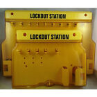 MILE Overall Molding Lockout Station with Cover, Unfilled Safe Security Padlock