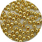 Pick Size / 100 Tungsten Slotted Beads,  Fly Tying, Fishing / Gold Color