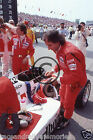 Colour Photo Emerson Fittipaldi CART PPG Indy 500 Patrick Racing Team 1986