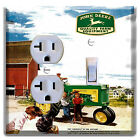 John Deere Light Switch wall plate covers Outlet man cave room decor