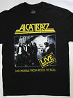 Alcatrazz -  No  Parole  From Rock 'N' Roll / Live Sentence'84 T-shirt  (S-XXL)