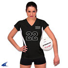 "NEW Champro VS1 Women's Adult 2.5"" Spandex Compression Volleyball Shorts Black"