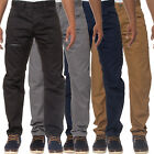 Mens Eto Regular Tapered Fit Chinos Pants Stylish Designer Jeans Trousers Pants
