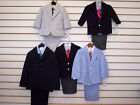 Infant & Toddler Boys Assorted 4-Pc. Dress Suits Size 12 Month & 4T