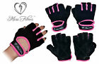 Women Gym Gloves Work Out Weight Lifting Fitness Crossfit Miss Fibres