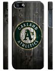 Oakland Athletics Logo iPhone 4 4S 5 5S 5c 6 6S 7 8 X XS Max XR Plus SE Case 1