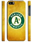Oakland Athletics Logo iPhone 4 4S 5 5S 5c 6 6S 7 8 X XS Max XR Plus SE Case 3