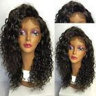Soft Curly Brazilian 100% Human Hair Wigs Full/ Front Lace Wigs Baby Hair HOT