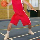 SPIRO SPORTS WEAR MENS BASKETBALL SHORTS 3 Cols S to 4XL BREATHABLE LIGHTWEIGHT