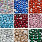 1000x 14 Facets Resin Rhinestone Gem Flat Back Crystal AB Beads 2,3,4,5,6mm