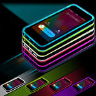 Shockproof Rubber Hard LED Light UP Remind Call Cover Case For iPhone 6 6s Plus