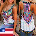 Fashion Women Summer Vest Top Sleeveless Shirt Blouse Casual Tank Tops T-shirt