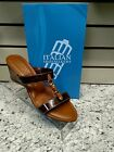 ITALIAN SHOEMAKERS - BROWN TORTOISE WEDGE - REG. $32.99