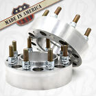"""2 USA MADE 8x6.5 to 8x180 mm CHEVY HUB CENTRIC Wheel Adapters 2"""" Spacers"""