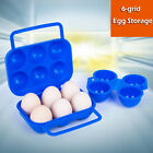 Outdoor Portable 6/12 Refrigerator Egg Storage Box Case Tray Holder Container
