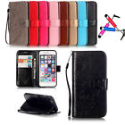 Hot Luxury shockproof Flip Stand Card Wallet Leather Case Cover For iPhone+Gift