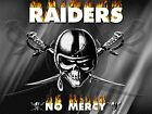 OAKLAND RAIDERS NFL Photo Quality Poster - Choose a Size!  A $16.5 USD on eBay