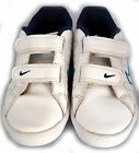 BOYS WHITE NIKE TRAINERS SIZE 1. USED  WORN ONCE SO IN EXCELLENT CONDITION