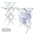 Clothes Airer Dryer Laundry Drying Washing Horse 3 Tier Winged Indoor Towel Rack