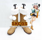 SUPER SONICO THE ANIMATION Cosplay shoes boots Costume Female size