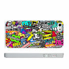 Skateboarding Stickers DC Vans PHONE CASE COVER fits IPHONE 4s 5s 5c 6s 6+