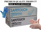 SAFETOUCH Disposable-CV-Powder & Latex Free Gloves 10 100 200 300 CHEAP