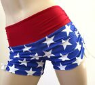 American Flag Shorts Bikram Hot Yoga Workout Gym Clothes Short SXYFITNESS XXS-XX