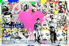 COOL GRAFFITI STREET ART CANVAS #53 MR BRAINWASH BANKSY STYLE CANVAS PICTURES