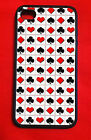 GAMBLING ACES SUITS POKER CHIPS  HIPSTER  Iphone 4/4S 5/5C/5S 6(4.7) 6 Plus Case