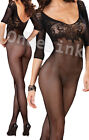 Sexy Lingerie Babydoll Bodysuit BODYSTOCKING Chemise Underwear Open Crotch