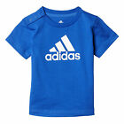 adidas Favourite Infant Kids Boys Shirt Tee Blue/ White