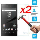 2Pcs 9H Premium Tempered Glass Screen Protector Film Guard For Sony Xperia Phone