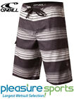O'Neill Santa Cruz Stripe Men's Boardshorts - Black/WHITE
