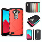Shockproof Hybrid Rugged Rubber Impact Hard Case Protective Cover Skin For LG G4