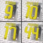 Inter Milan 2016-17 home, Serie A, Official name set, printings