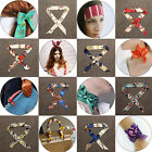 Women Girl Ribbon Headband Bag Handle Decoration Accessories Neck Bow Tie Scarf