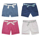 GIRLS BNWOT FINE CORD SHORTS PINK, LIGHT BLUE OR DENIM BLUE AGES 2 TO 5 YEARS
