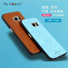 Luxury Slim Soft Leather Protective Back Case Cover For Samsung Galaxy S7 Edge