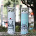 Portable Stainless Steel Thermos flask Tea Coffee Cup Mug Gift cup cover Brush