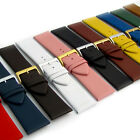 Fine Calf Leather Watch Strap Band 11 Colours! 22mm 24mm 26mm 28mm 30mm LB01