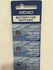 5 Pieces Genuine Seiko Watch Battery Silver Oxide 1.55V Made in Japan  Various