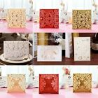 Внешний вид - Luxury Invitation Cards Lace Laser Cut Wedding Envelopes Supply Seals Stationery