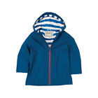 Hatley Boys Splash Jacket Navy Stripe