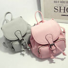 Women's Drawstring Faux Leather Mini Small Backpack Rucksack Travel Casual Purse