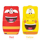 S2B Larva 3D Silicone Smartphone Cases Anti-Shock Cover for iPhone, Galaxy