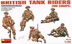 Miniart 1:35 - British Tank Riders (NW Europe) WW2 Light infantry