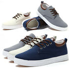 HOT Mens Classic AuthenticTrainer Casual Flats Shoes Canvas Shoes Inner Heigten