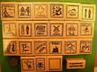 country of sylvania in europe - Country and Continent Passport Stamp Frame Rubber Stamps, wood mtd., your choice