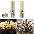 E17 152 LED Dimmable 3014SMD White/warm White Corn Bulb Light Silicone Lamp